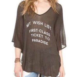 Wildfox NWT sheer must have coverup